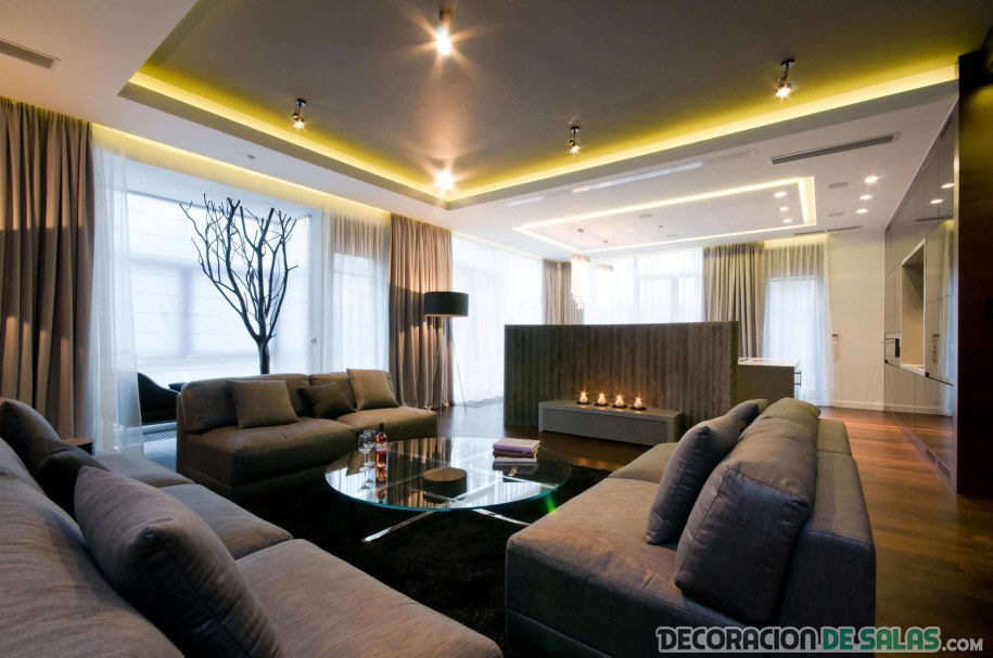 Grandes salones grandes ideas - Decoracion salones grandes ...