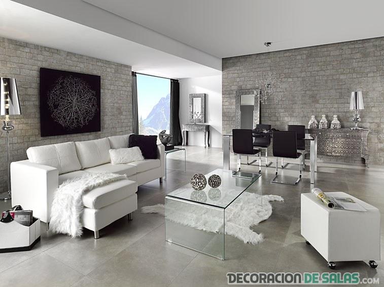 Cambios sencillos para hacer en la decoraci n del sal n - Salones modernos decorados ...