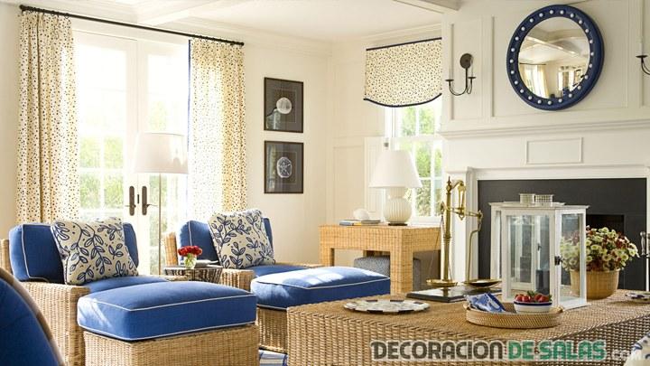 salón elegante veraniego
