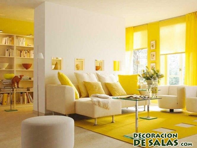 salón en amarillo