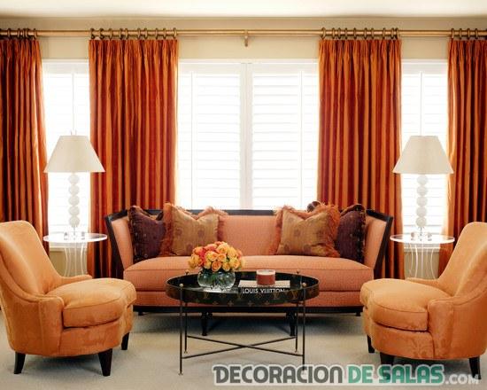 Combinar color naranja decoracion perfect cmo utilizar el - Combinar color naranja decoracion ...