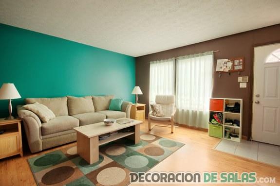 El color aguamarina en la decoración de tu hogar