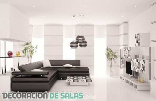 Quieres crear un sal n de estilo minimalista for Decoracion minimalista salon