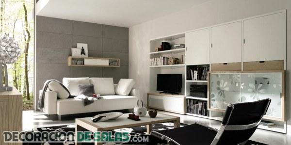 cmo decorar salones para crear un ambiente cmodo - Como Decorar Un Salon Moderno