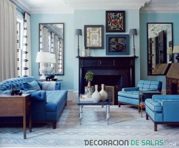 Cortinas para sillones azules: cortinas para sala cómo elegirlas ...