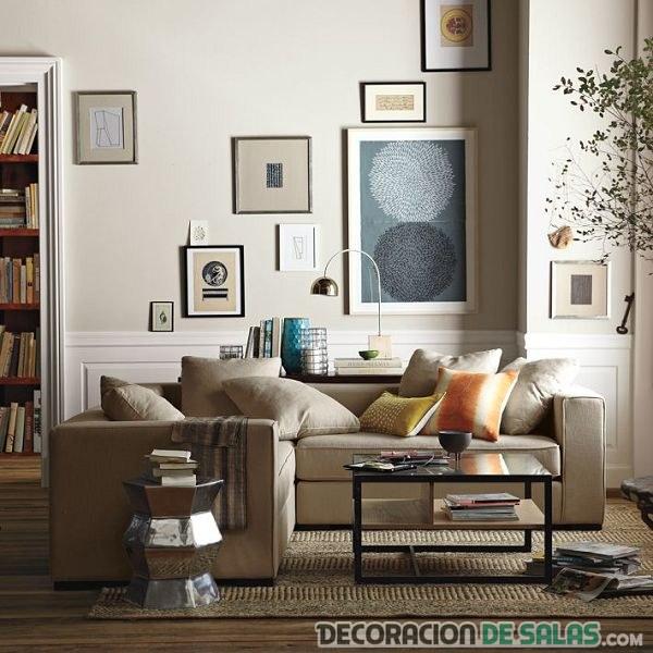 salón pequeño bien ordenado