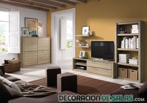 Trucos para decorar con muebles claros - Colores de pinturas para salones ...