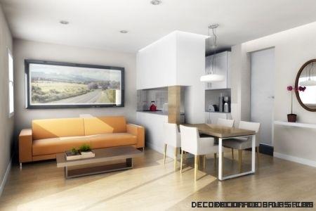 Agranda el espacio en estancias pequeñas