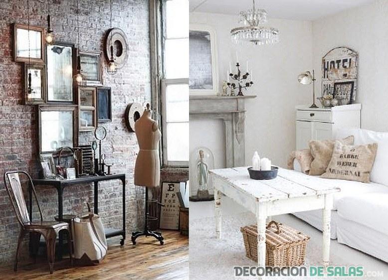 Decoraci n r stico vintage para tu hogar for Decoracion hogar rustico