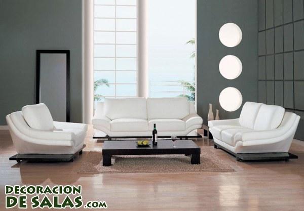 Decoraci n minimalista en salones muy elegantes - Salones de diseno minimalista ...