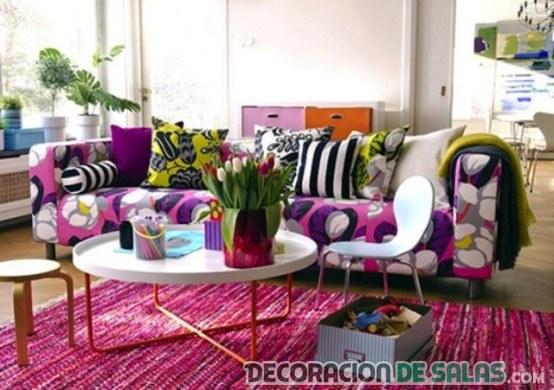 salones en color rosa