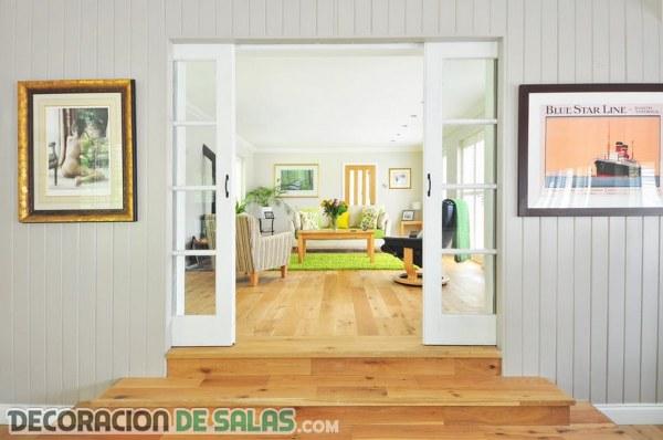 Pequeños, sencillos y originales salones