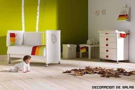 Seguridad en la habitación del bebé