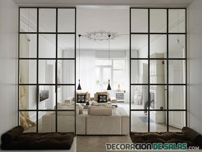 Decora con zonas acristaladas y ver s el cambio - Tabiques de cristal para viviendas ...
