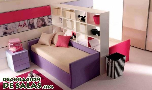 Separando habitaciones de niña y niño