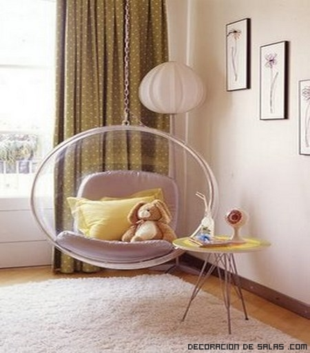 Decora tu rinc n favorito con una silla colgante for Sillas para habitacion matrimonio