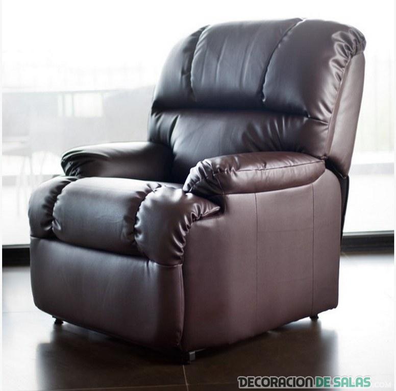 Descubre las grandes ventajas de los sillones de masaje for Sillon relax de piel