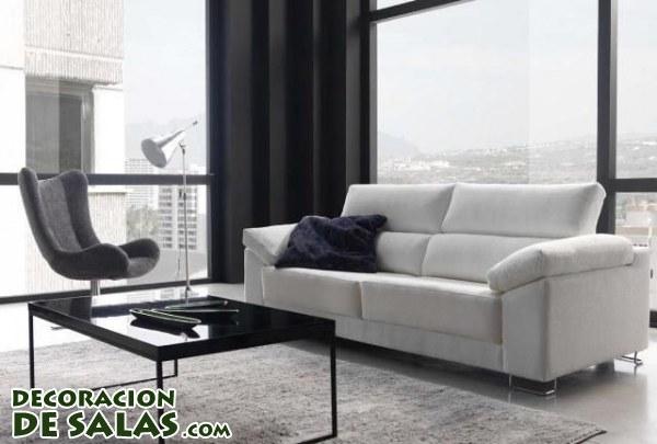 El sof blanco en tu decoraci n - Decoracion sofa blanco ...