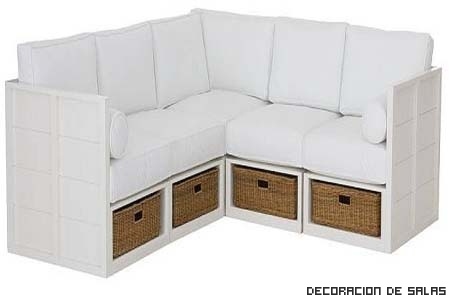Sof s multifunci n for Sofa con almacenaje