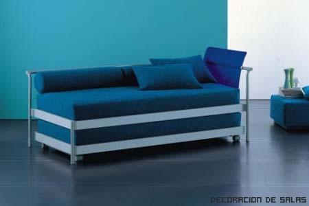 Muebles multifuncionales para espacios reducidos for Modelos de sillon cama