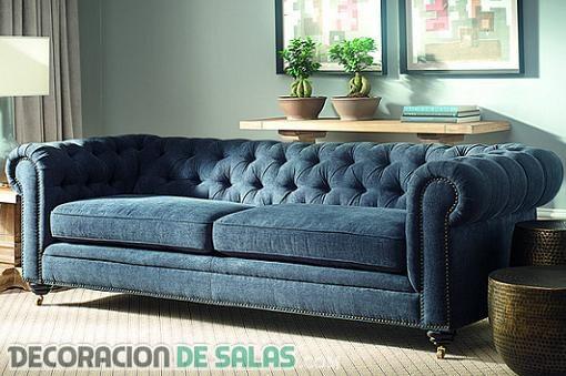 sofa tipo chester ideas perfectas para decorar con un sof chester