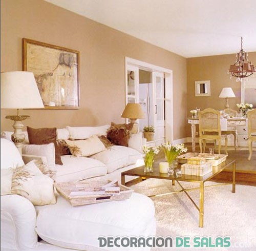 Detalles para decorar un salon amazing ideas para decorar - Pintar salon pequeno ...