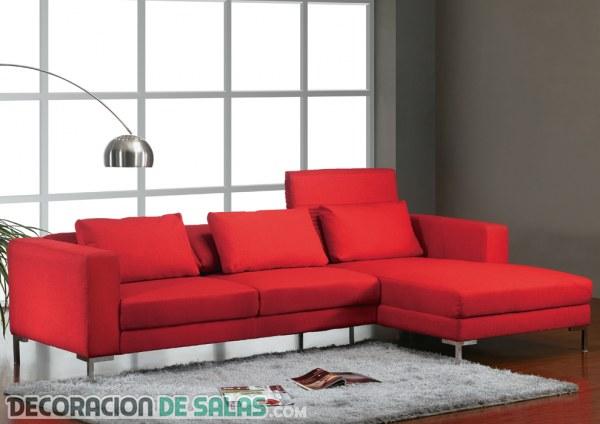 Decoracion Living Rojo ~ Sof?s en color rojo para tu decoraci?n