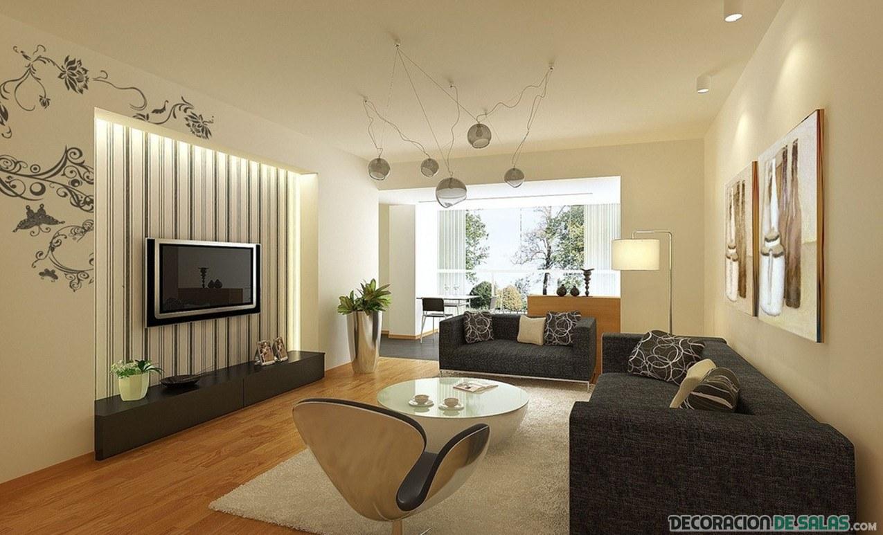 Sof s oscuros para los salones m s elegantes for Sofa moderne marron gris