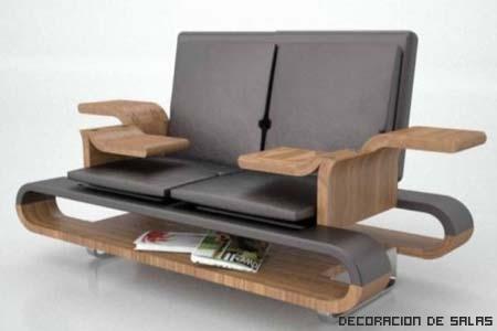 Muebles multifuncionales para espacios reducidos - Muebles practicos para espacios pequenos ...