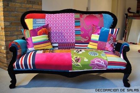 Telas para tapizar muebles for Sofas tela modernos