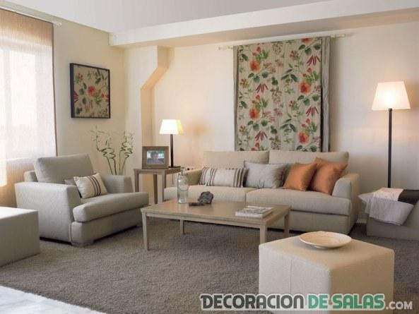 sofás colores neutros claros