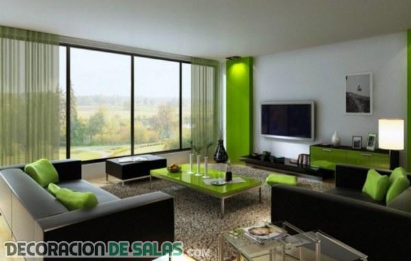 El sofá en color negro, una tendencia elegante