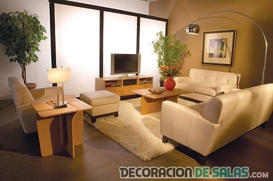 Salones peque os con decoraci n muy sencilla pero original for Mayoristas de muebles y decoracion