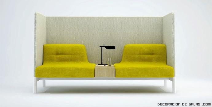 Un nuevo concepto para decorar tu oficina for Sofas para oficina baratos