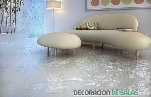 5 nuevas ideas de suelos 3d for Suelo 3d blanco