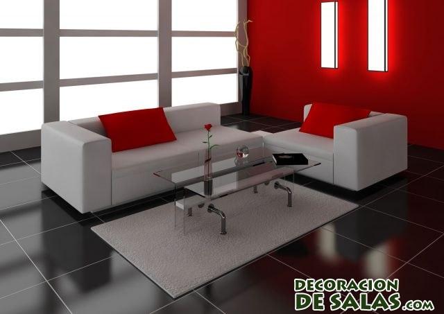 Suelos en color negro - Color paredes para muebles oscuros ...