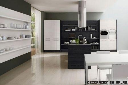 Un suelo para cada estilo de cocina