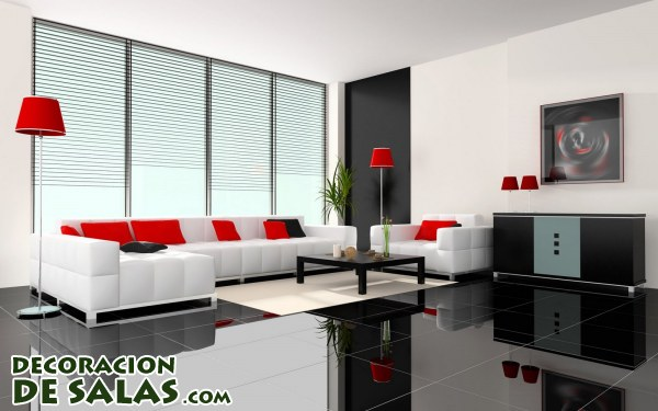 Suelos en color negro - Free interior design ideas for living rooms ...