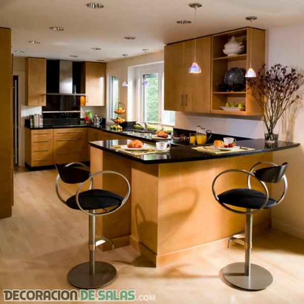 Adorna tu cocina con unos taburetes - Taburetes para cocina americana ...
