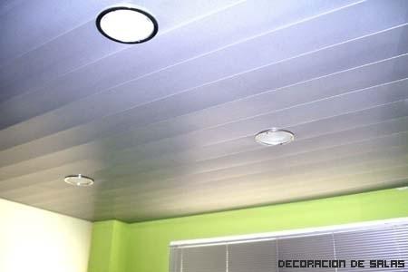 Techos de aluminio para las estancias