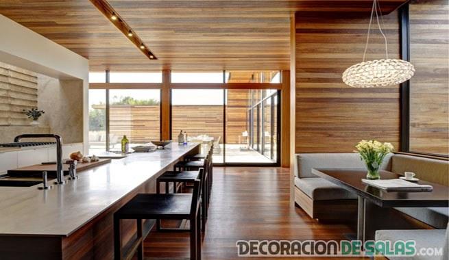 Los techos de madera y su belleza en los interiores for Techos de madera para casas