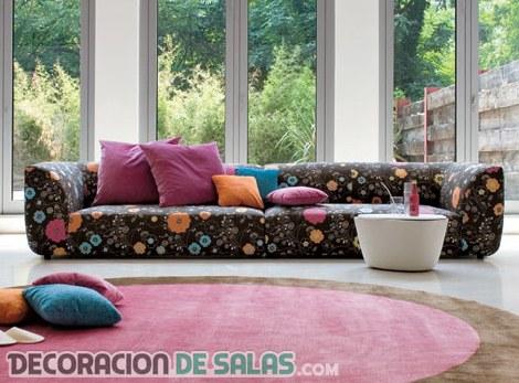 Telas para tapizar los sof s del sal n for Telas para forrar muebles