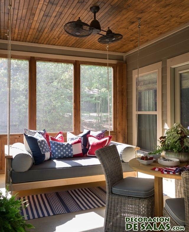 Terrazas de las casas de vacaciones for Terrazas de madera para casas