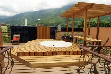 Terraza relajante - Jacuzzi para terraza ...