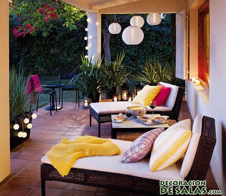 C mo decorar terrazas de manera relajante - Terrazas interiores decoracion ...