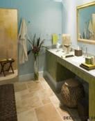 Pinceladas de decoración tropical en tu baño