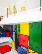 Habitaciones infantiles decoradas con Lego