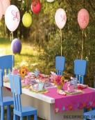Decoración para una fiesta de cumpleaños