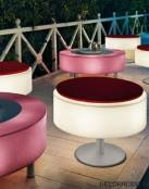 Muebles luminosos para jardin