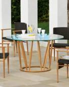 Mesas redondas para el jardín